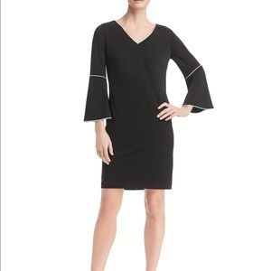 Dresses & Skirts - New Calvin Klein Bell Sleeve sheath dress